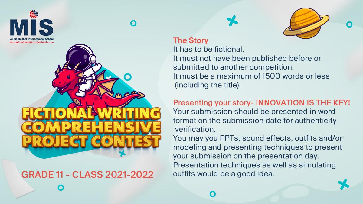 Fictional Writing Comprehensive Project Contest
