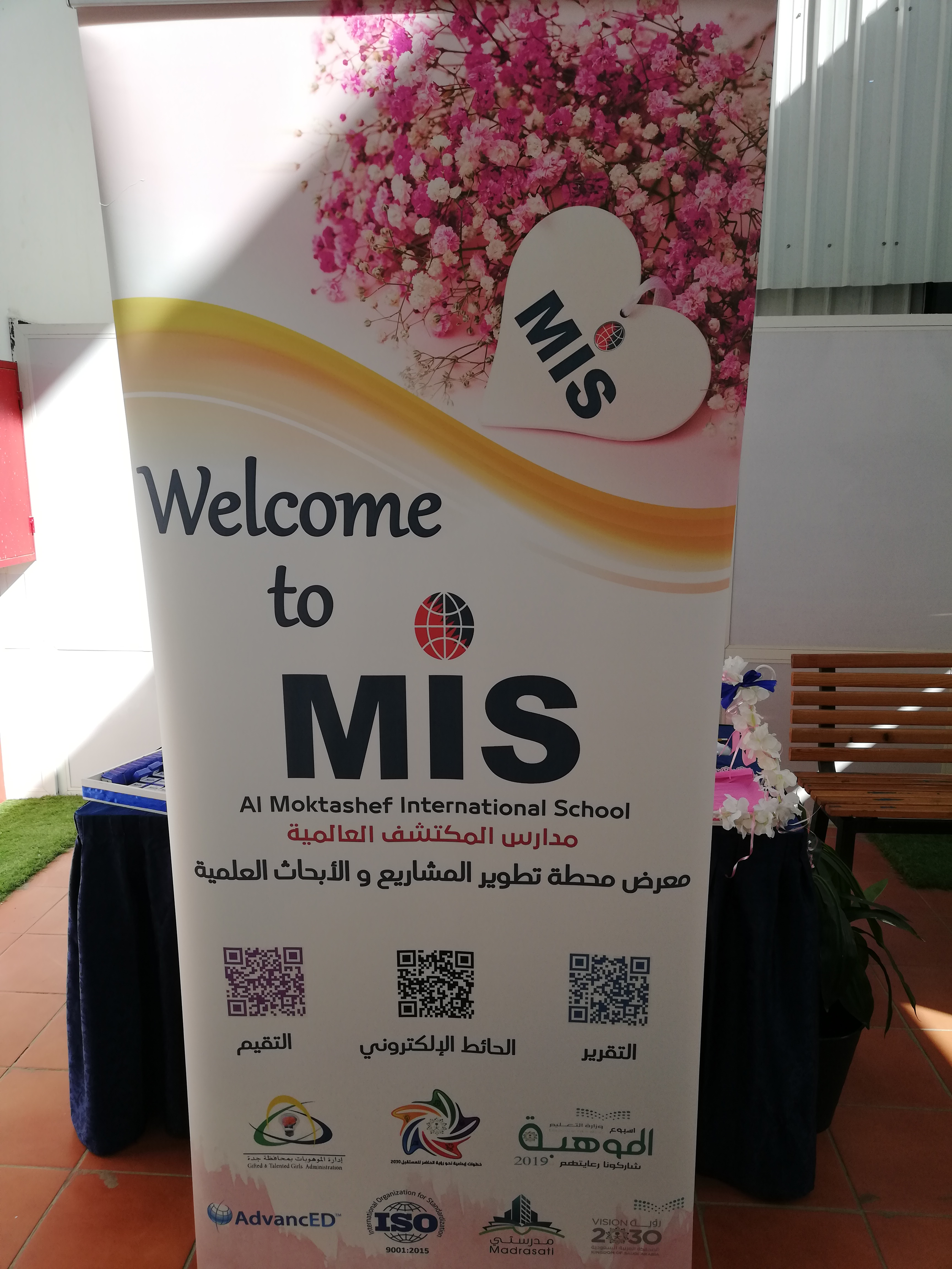 MIS is proudly hosting the Scientific Projects and Research Development Fair with the attendance of 144 scientific project and STEM