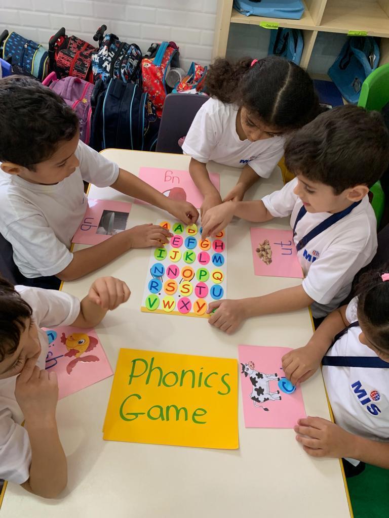 KGs Section- Phonics Games