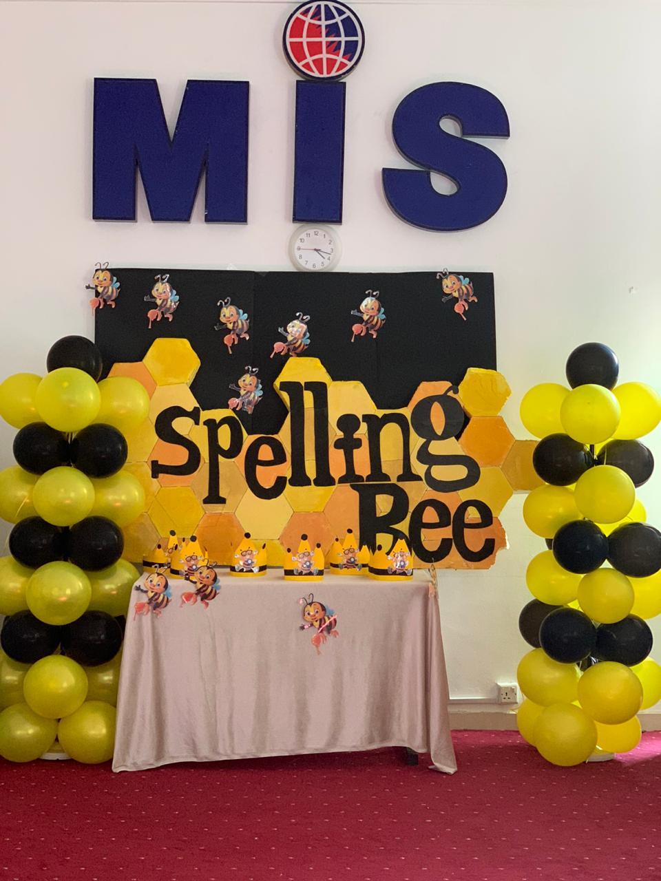 SPELLING BEE CONTEST 2019-2020